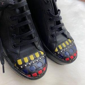 VTG Stephanie Kelian shoes platforms black 5 euc